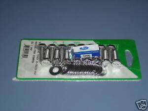 Mustang 351c Cleveland Valve Cover Bolts Polished Ss