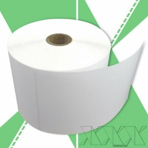 500 Per Roll 4x6 Direct Thermal Labels Zebra 2844 5 Rolls