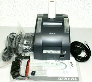 New Epson Tm u220b653 C31c514653 M188b Serial Pos Receipt Printer Free Ship