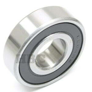 Stainless Steel Radial Ball Bearing Hbc S6204 2rs 12 2 Seals 3 4 19 05x47x14mm