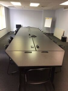 Freestanding Conference training Tables