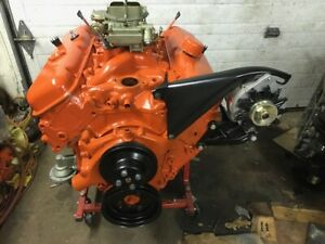 1966 Chevelle 396 Engine Fresh Build Complete From Pan To Carb 427 454
