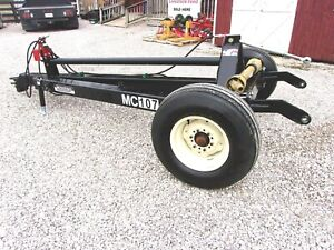 Cimarron Mc 107h Disc Mower Caddy Made In Usa can Ship 1 85 Loaded Mile