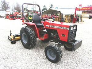 1988 Mf 1020 Compact Tractor With 6 Ft Finish Mower shipping 1 85 Loaded Mi