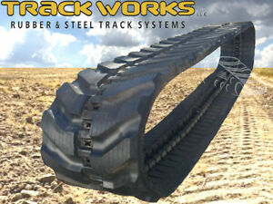 Daewoo Solar 25 Single Rubber Track 300x52 5x74 Mini Excavator