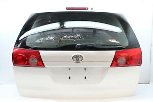 2009 Toyota Sienna Le Tailgate Trunk Lid Rear White 040 Oem 04 05 06 07 08 09 10