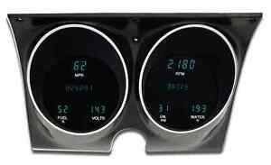 1967 1968 Camaro Pontiac Firebird Dakota Digital Dash Vfd3 Gauge Kit