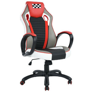 Racing Style Gaming Chair High Back Recliner Office Computer Desk Manager Chair