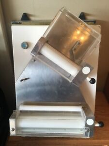 Pizza Dough Roller Sheeter With 2 Pairs Of Rollers Dough Diameter 12