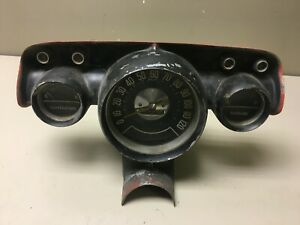 Vtg 1957 57 Chevy Bel Air Nomad Dash Speedometer Gauge Cluster Chevrolet 1584733