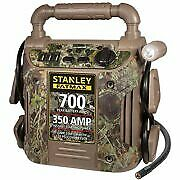 Stanley 700 Amp Camo Jump Starter With Air Compressor Brand New