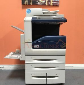 Xerox Workcentre 7855i Color Printer Scan Copier Network 55ppm Laser A3 Tabloid