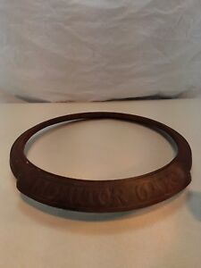Antique Monitor Oak Parlor Stove Cast Iron Base Bottom Ring Part