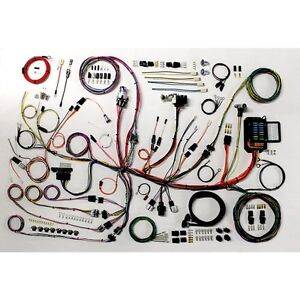 1953 62 Chevy Corvette American Autowire Classic Update Wiring Harness 510267