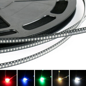 3014 Led Smd Smt Red Green Blue Warm White White 5colours Light Emitting T2