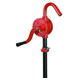 New Rotary Hand Crank Drum Barrel Tank Pump For Liquid Oil Fuel Or Water