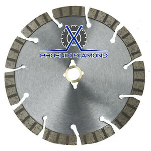 14 Turbo Segmented Diamond Blade Slanted Keyhole Gullet For Stucco Sandstone