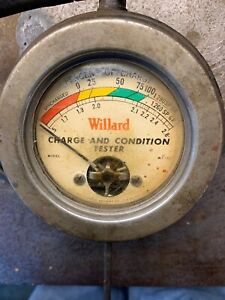 Vintage Willard Automotive Battery Charge Tester