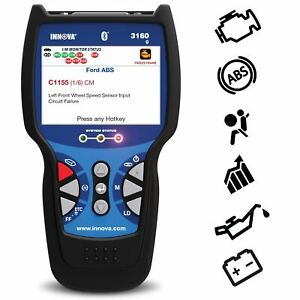 Innova Color Screen With Bluetooth 3160g Code Reader Scan Tool With Abs Srs A