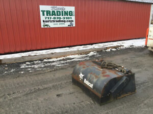 2005 Bobcat 44 Sweeper Attachment For Mt52 Mt55 S70 Skid Steer Loaders