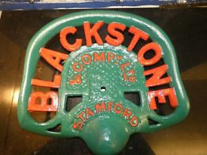 Tractor Implement Seat Farm Collectables Vintage Blackstone