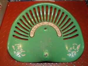 Walter Wood Vintage Cast Iron Tractor Implement Seat Farm Collectables