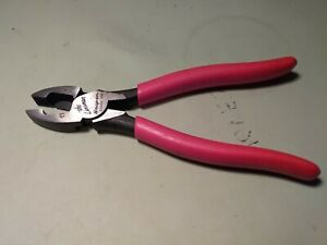 Snap On Tools Shorter 7 Lineman Pliers 57ahlp Brand New Never Used