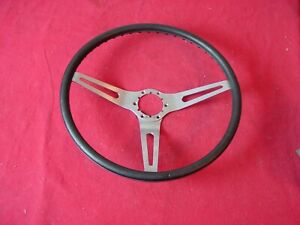 1970 Chevelle Corvette 15 Black Cushion Grip Sport Steering Wheel Original Gm