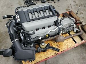 2016 Ford Mustang 5 0 Coyote Engine Drivetrain Automatic Auto Dohc Complete