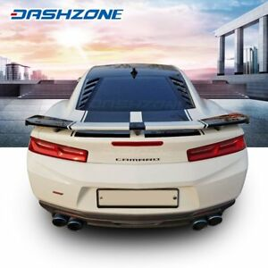 K Speed Rear Window Louver Cover Sun Shade Rain Guard Fit 2016 2018 Chevy Camaro