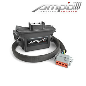Superchips Amp d Throttle Booster W switch For Ford 11 17 F150 250 350 Truck