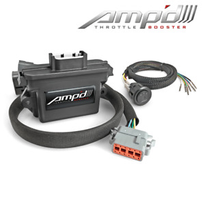Superchips Amp d Throttle Booster W Switch For Chevy gmc 07 17 Trucks