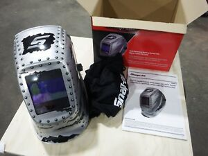 Snap on Welding Helmet Ya4611 silver Metal Design