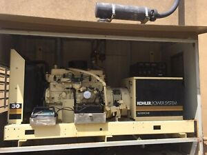30kw Kohler Generator Only 25 Hrs On It