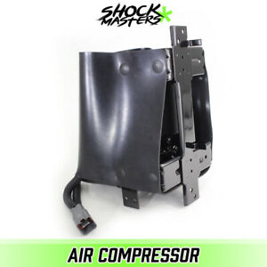 Air Suspension Air Compressor Pump With Full Cage For 2005 2015 Nissan Armada