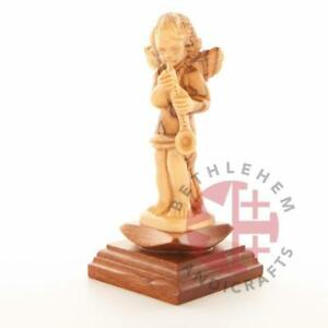 Hand Carved Wooden Angel