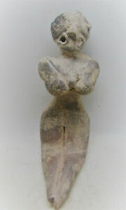 Circa 2200 1800bce Ancient Indus Valley Harappan Figure Bird Like Features