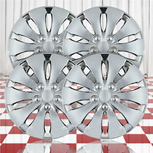 16 Push on Chrome Hubcaps For 2008 2012 Honda Accord qty Four