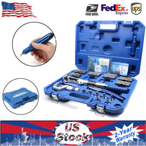 Hot Universal Hydraulic Pipe Expander Set Pipefuel Line Flaring Tool Steel