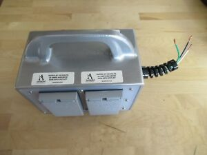 Akron Brass Electrical Junction Box For Fire Rescue pierce P n 63 4450 0034