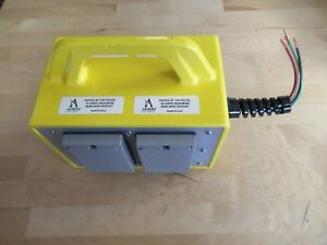 Akron Brass Electrical Junction Box For Fire Rescue Ebjx 02p01010104y