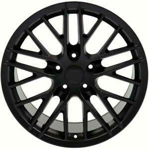 Black Wheel 18 X 9 Fits 1993 2002 Chevy Camaro Owh3992