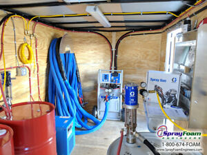 Spray Foam Equipment Graco A25 Spray Insulation Trailer Package