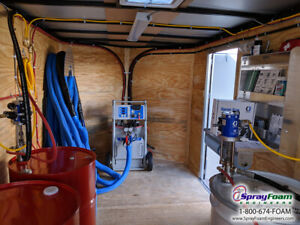 Spray Foam Equipment Complete Graco A25 Spray Insulation Package