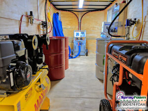 Spray Foam Equipment Graco A25 Spray Insulation Package Complete