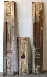 Antique Victorian Entry Door Vestibule Surround C 1880 Architectural Salvage