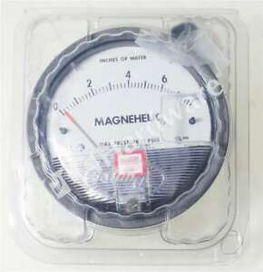 New Dwyer 2008 Series 2000 Magnehelic Positive Pressure Air Gauge 0 8 Of Water