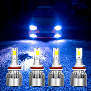 9005 h11 Ice Blue Hi low Beam Led Headlight Bulb For Chevy Silverado 1500 07 15