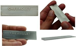 Chevrolet Replacement Vin Plate Chevy Data Tag Serial Number Etched 1953 1963