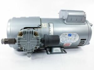 Gast 6hca 10 m616nex Oilless Dual Piston Air Compressor